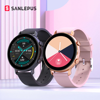 SANLEPUS 2021 Smart Watch Dial chiamate uomo donna impermeabile Smartwatch ECG PPG cinturino Fitness per Android Apple Xiaomi