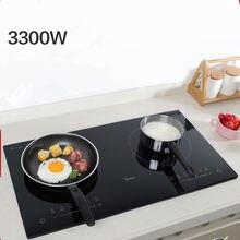 220v fogão duplo doméstico fogão de indução elétrica à prova dwaterproof água embutido fogão forno de fritura