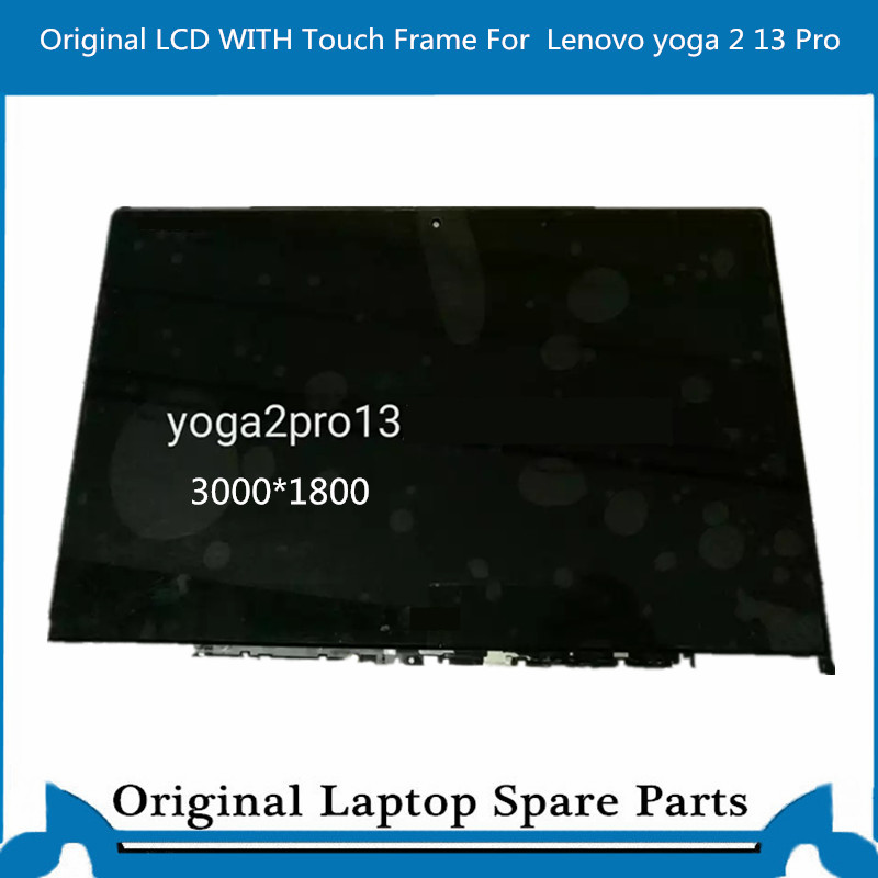Complete LCD Display Panel Touch Glass Digitizer For Lenovo yoga 2 13 pro Screen Assembly Bezel LTN133YL01 3000*1280 image