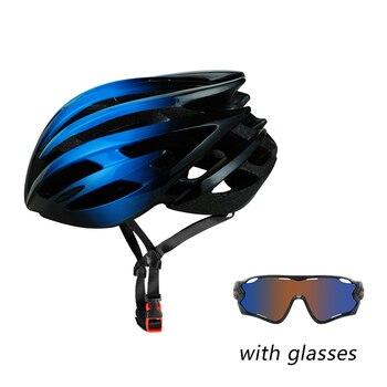 Blue100-Casco De Seguridad para Ciclismo, con protección UV, a prueba De viento