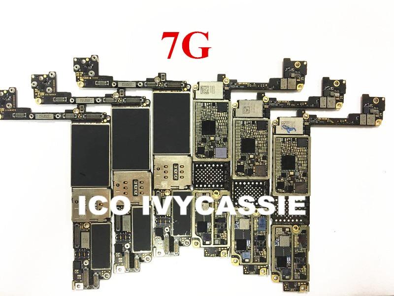 Для iPhone 7 7G 7Plus 8 8P X б/у материнская плата без флеш чипа Nand, не работает на логике, основная плата pracse Skill|Интегральные схемы|   | АлиЭкспресс