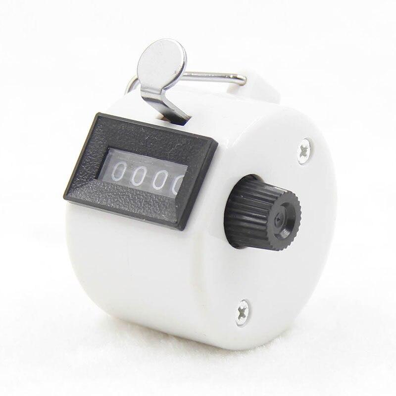 4 цифры номер счетчики Пластик оболочка ручной работы палец Дисплей ручной подсчет таймер футбол счетчик для гольфа