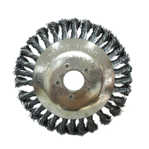 Image 2 - Lame coupe gazon pour débroussailleuse, 8 pouces, tondeuse à gazon, étanche à la casse, bord rond en acier, accessoire pour tondeuse à gazon