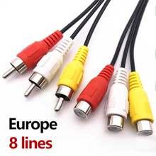Stable av cable 7 lines for satellite receiver DVB-s2