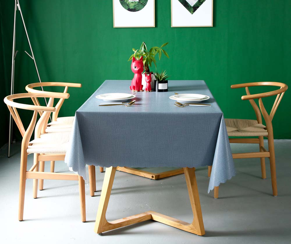 Waterproof PVC Table Cloth Cover Rectangular Lace Home Graden Mantel Obrus Kitchen Oil cloth Anti-scalding Soft Tablecloth