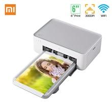 Xiaomi Mijia – Mini-imprimante Photo instantanée HD, impression polychrome par Sublimation thermique, 4x6 pouces, 300dpi, WiFi Connect