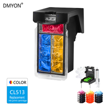 DMYON CL513 Tri-color Ink Cartridge Compatible for Canon 513 XL for Pixma MP230 MP250 MP240 MP270 MP480 IP2700 IP2702 Printer lcl pg512 cl513 pg 512 2 pack ink cartridge compatible for canon pixma ip2700 pixma mp240 pixma mp250 pixma mp260 pixma mp270