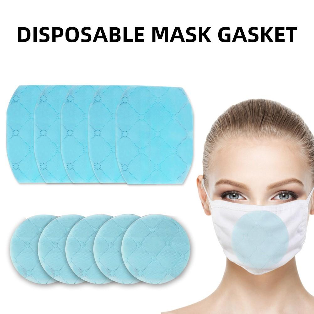 20Pcs Dust Proof Breathable Disposable Replace Inner Pads Filter For Mouth Mask PM2.5 N95 Carbon Filter Insert Protective Filter