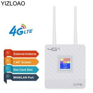 Modem Router Gateway Hotspots External-Antennas Wireless LTE YIZLOAO TDD Cpe 4g GSM Sim