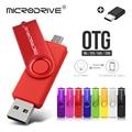 Высокоскоростной флеш-накопитель 3 в 1 USB 2,0 Type-C, флешка с usb-ключом OTG, usb флеш-накопитель 64 ГБ 32 ГБ 16 ГБ 128 ГБ, драйвер ручки Cle USB