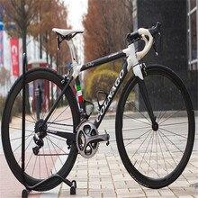 Белый глянцевый углеродный дорожный велосипед Colnago C60 THRD с V-тормозом
