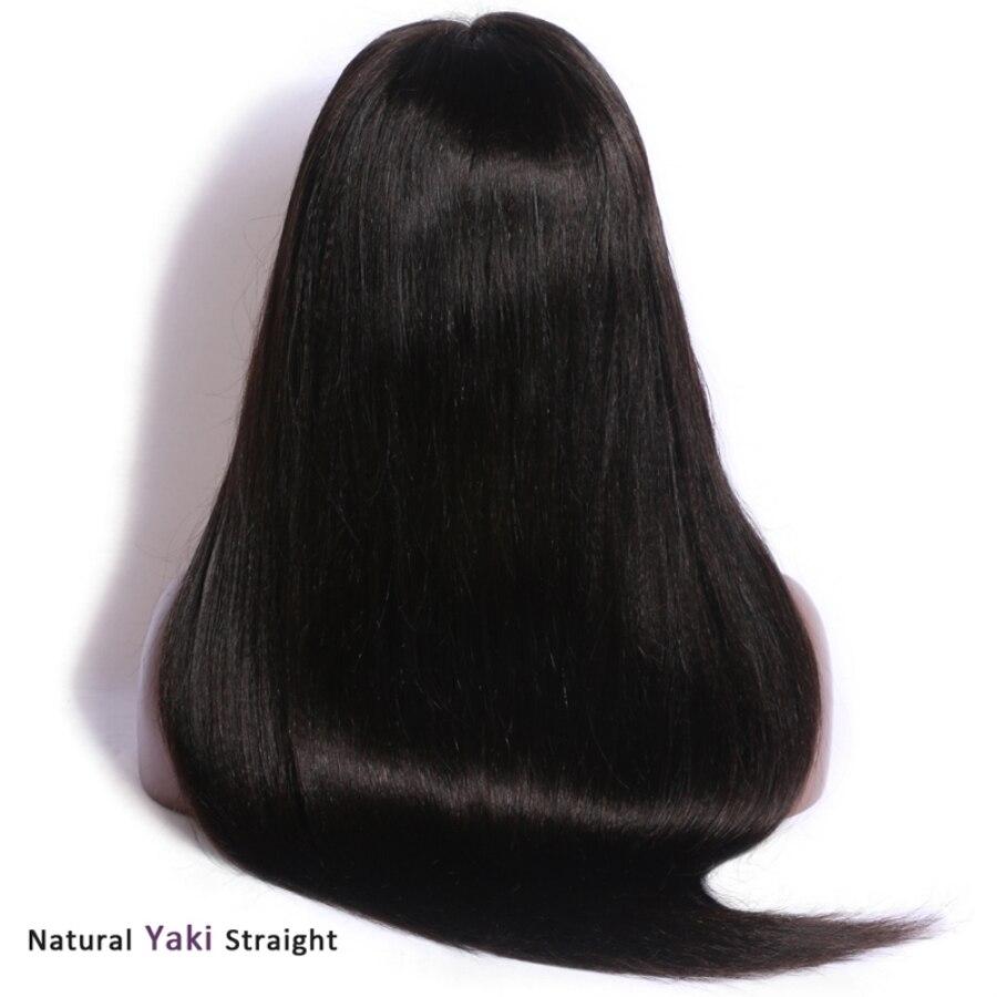 26 13x6 yaki peruca dianteira do laço