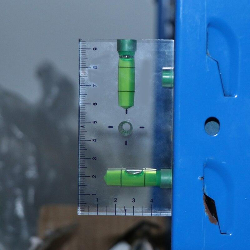 Высокая точность прозрачный двухнаправленный Магнитный уровень