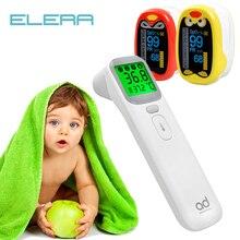 ELERA педиатрический пальцевой Пульсоксиметр неонатальный кислород крови для детей Перезаряжаемый USB насыщение младенец Oximetro pediatrico