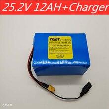 6s 5p 25,2 v 12ah lithium akku 25,2 V 12000mAh Geeignet für fahrrad elektrische roller rollstuhl batterie pack mit BMS