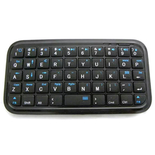 Pocket Mini Bluetooth Keyboard For Iphone 4/4S/5/Ipad 2 3 4 Air Android System/Samsung/Sony Ps4 стоимость