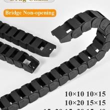 Wire-Carrier Towline Machine-Tools Bridge End-Connectors Drag-Chains Cable Transmission-10x20