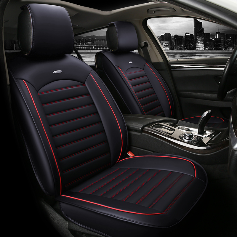 Car Seat Cover Pu Leather Auto Car Cushions for Mercedes Benz M Class <font><b>Ml</b></font> <font><b>350</b></font> Ml320 <font><b>W163</b></font> W164 W166 Gle GLE43 GLE63 GLE63S image