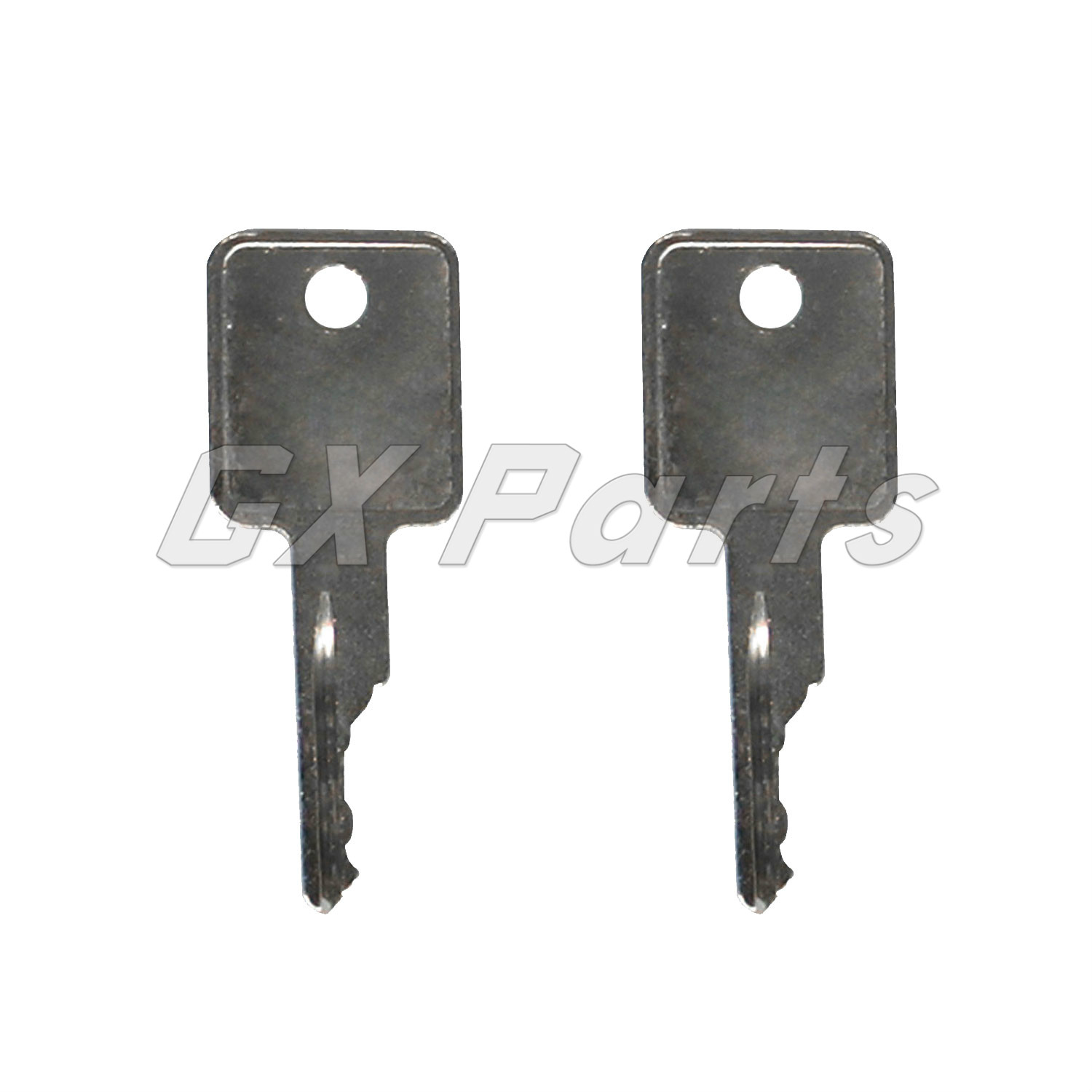 2 PCS Compatible with 6693241 Ignition Key For Bobcat S100 S130 S150 S160 S175 S185 S205 Skid Steer