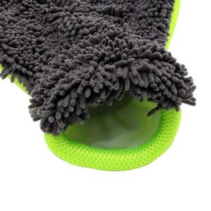 Image 4 - LEEPEE z mikrofibry rękawice do mycia samochodów okno środek do pielęgnacji karoserii Detailing miękkie czyszczenie samochodu narzędzie do mycia sprzątanie domu