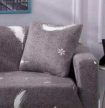 string printed Stretch Elastic cushion