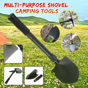 2020 New Multi-purpose Outdoor Shovel Garden Tools Folding Military Shovel Camping Defenses Security Tools