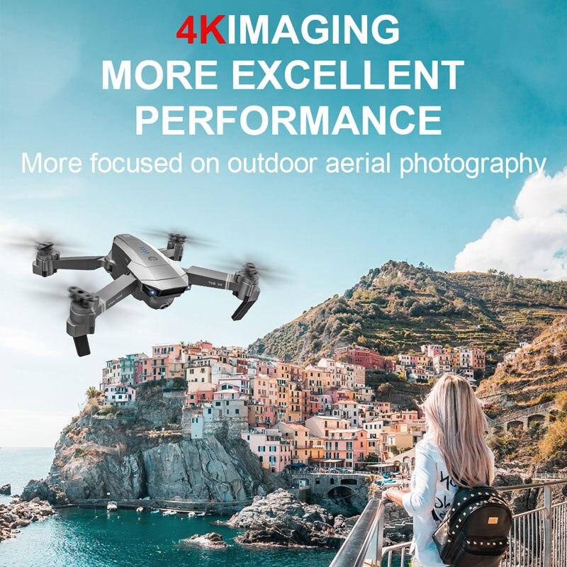 ZWN SG907 SG901 Drone GPS avec Wifi FPV 1080P 4K HD double caméra flux optique quadrirotor suivez-moi Mini Dron VS SG106 E520S - 4