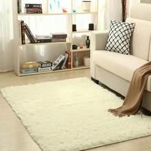 Super doux soie laine tapis intérieur moderne Shag zone tapis soyeux tapis chambre tapis de sol bébé pépinière tapis enfants tapis de haute qualité