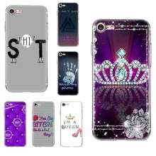 For Galaxy Alpha Core Prime Note 4 5 8 S3 S4 S5 S6 S7 S8 S9 mini edge Plus TPU Screen Protector Bitch princess Don't touch me(China)