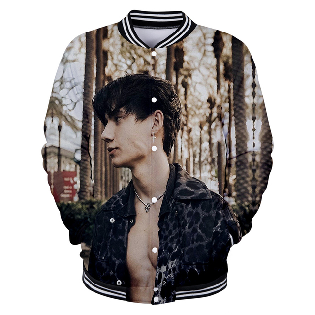JXDN JADEN HOSSLER THEMED BASEBALL JACKET (10 VARIAN)