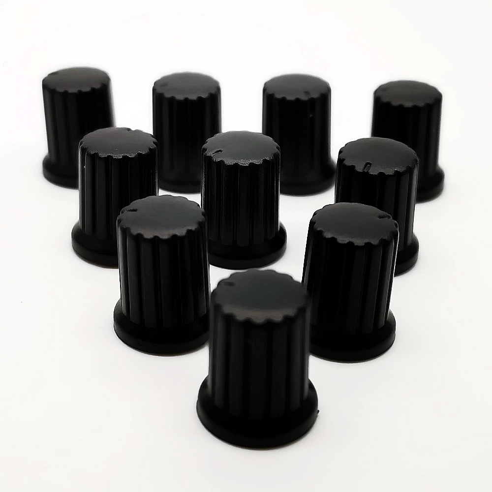 10PCS  Potentiometer Plastic Knob Encoder Audio Knobs  Volume Control  Knobs