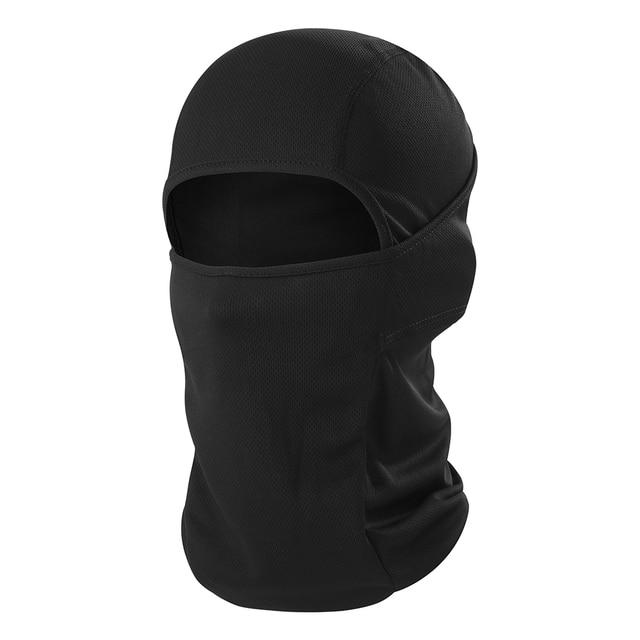 Motorcycle Balaclava Full Face Cover Warmer Windproof Breathable Motorbike Motocross Cycling Biker Cycling Anti-UV Men Helmet 1