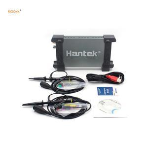 Image 1 - Hantek 6022BE Laptop USB do komputera pamięć cyfrowa wirtualny oscyloskop 2 kanały 20Mhz ręczny przenośny Auto diagnostyka oscyloskop