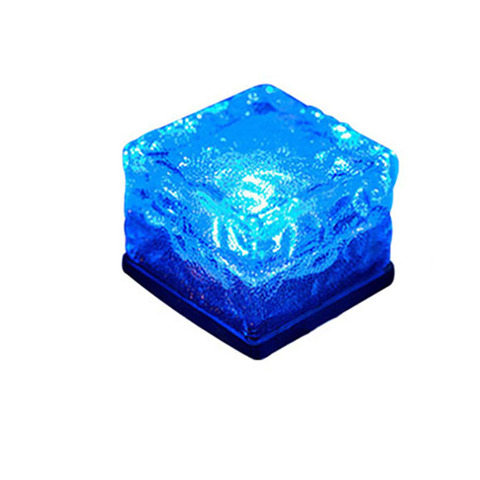 pedra de vidro movido energia solar