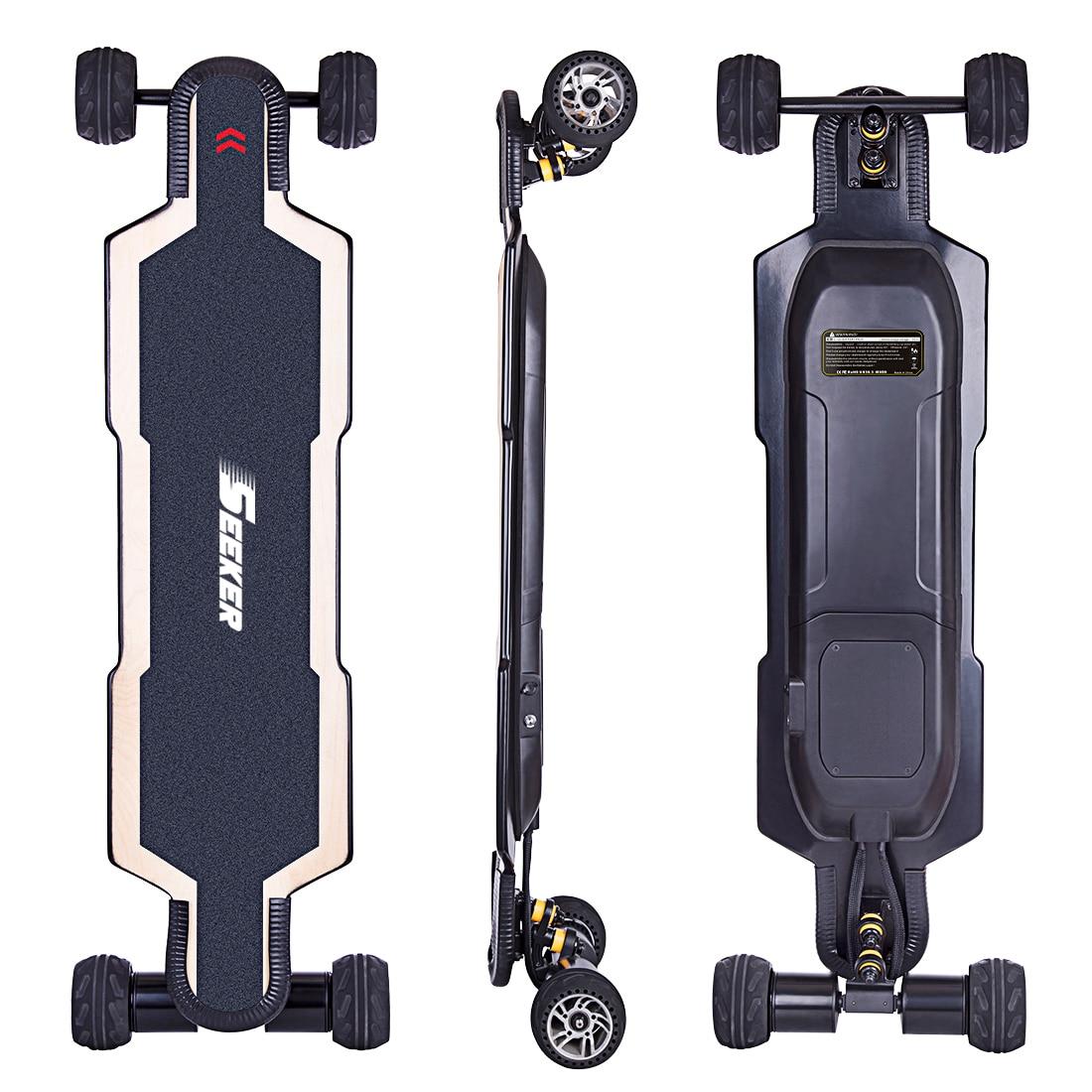 New Hot SEEKERS BRT-02 4-Wheel Electric Skateboard - AU Plug