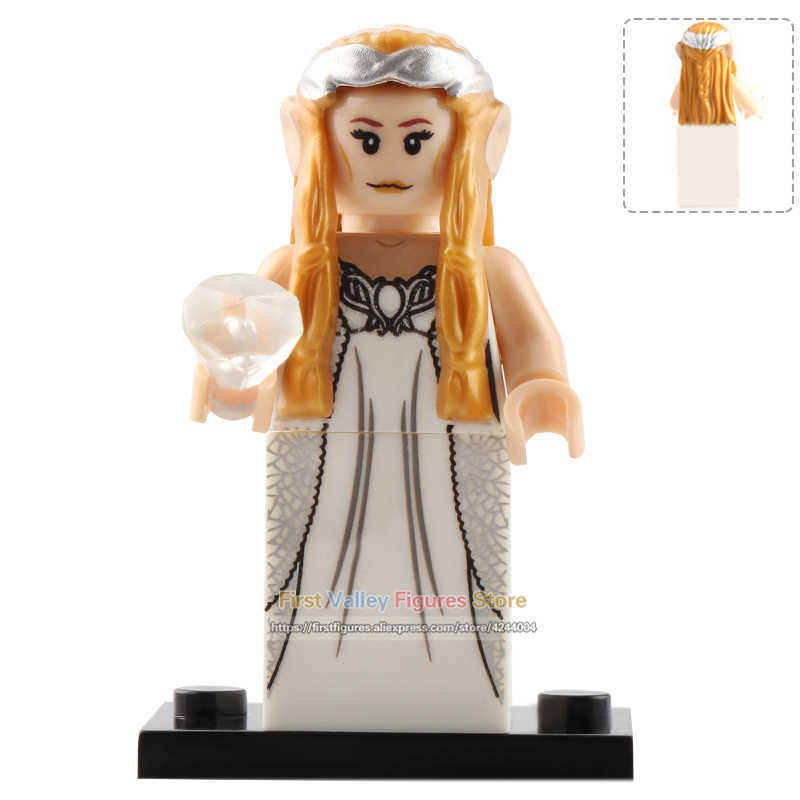 DR. TÔNG Đơn SaleLord của Nhẫn Hình Gandalf Thranduil Elrond Galadriel Arwen Khối Xây Dựng Đồ Chơi Trẻ Em PG8148