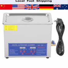 1.3/2/3/6/10/15/22/30L Digital Ultrasonic Cleaner Heated Timer Stainless Steel Ultra Sonic Cleaning Machine Local Fast Shipping