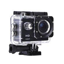1 zestaw kamera akcji z tworzywa sztucznego 30M wodoodporny Go nurkowanie Pro Sport Mini DV 1080P kamera wideo kask rowerowy kamera samochodowa DVR tanie tanio CN (pochodzenie) plastic 59 27 x 40 13 x 29 8mm 900mAh 3hours 2 inch