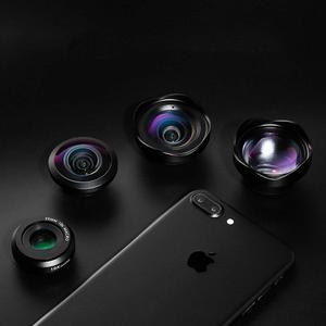 Image 5 - Ulanzi 10X Macro Wide Angle Lens Kit Telephoto Fisheye Phone Camera Lens for iPhone 11 Pro Max Samsung S10 Plus Huawei P30 Pro