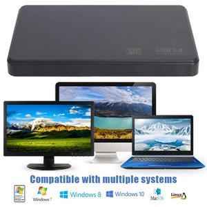 2,5-дюймовый USB3.0 для SATA 3 высокоскоростной корпус для жесткого диска 6 ТБ для компьютера, ноутбука, ПК, внешний SSD корпус для жесткого диска для Windows/Mac OS