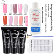 ZWTale 30ml Polygel Set Quick Builder Gel Varnish Acrylic UV Nail Polish Tips Gellak vernis semi permanant uv