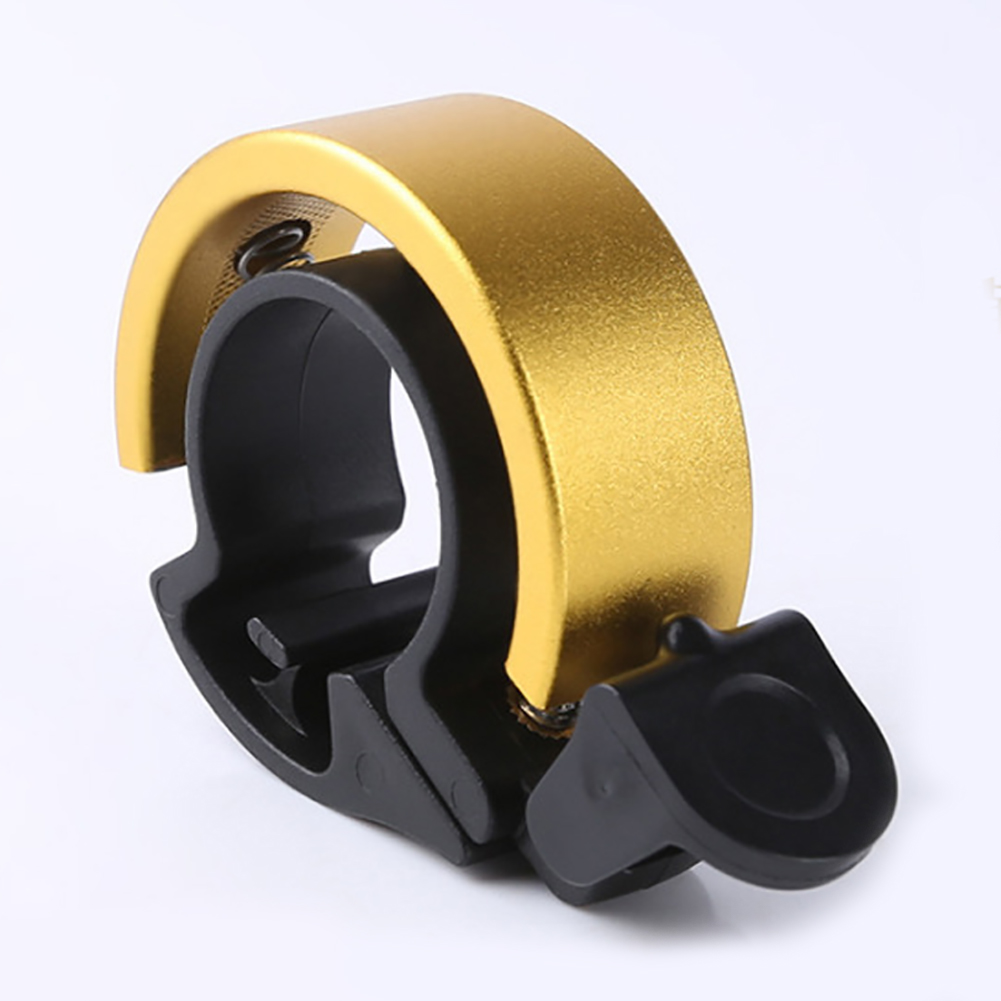 Bicycle Bell Invisible Sound Alarm Aluminum Alloy High Decibel Handle Mount DIY Safety Multicolored Ring Horn Decorative
