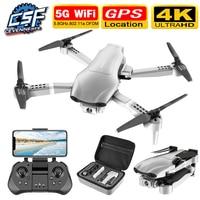 Dron F3 4K 5G con GPS, cámara dual gran angular HD, WiFi, vídeo en vivo, FPV, quadrotor de vuelo, 25 minutos de distancia, 2020 m, nuevo de 500