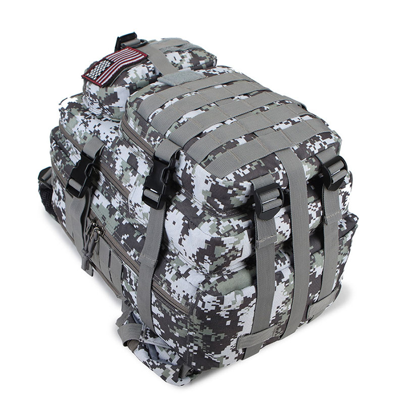 Outdoor 3P Molle Daypack for Trekking Hunting Pack Large Capacity Military Backpack Army Tactical Bag Military Assault Bags