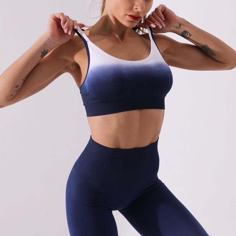 sutiã squatproof feminino cintura alta ginásio atlético esportiva