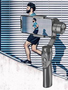 Orsda Selfie-Stick Camera Stabilizer Phone Handheld 3-Axis iPhone11xs Xr-X-8plus Celular