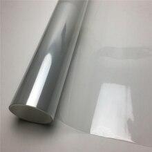 Ppf 3 camadas brilhante transparente filme de vinil da motocicleta bicicleta scooter rhino pele película protetora para pintura do carro película proteção