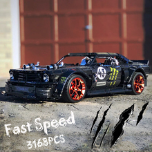 New 20102 Technic Ford Mustang Hoonicorn RTR the MOC-22970 S