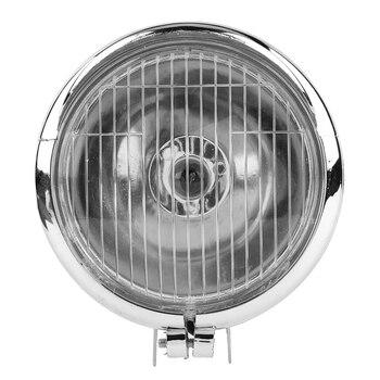 Мотоциклетный Универсальный DC 12 В Ретро противотуманный светильник s головной светильник мото рабочий Точечный светильник фара белая Авто...