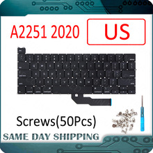 Ordinateur portable A2251 clavier US USA anglais pour Apple MacBook Pro Retina 13 \